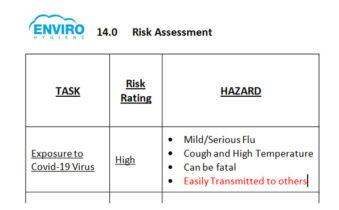 Enviro risk assessment
