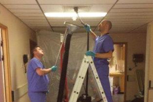 hospital covid-19 decontamination